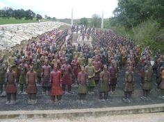 Terracotta Warriors research Terracotta Army - Buddha Eden Garden, Portugal