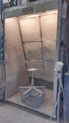 spray booth for small shop