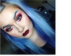 Anastasia Beverly Hills  blog chirurgicznie precyzyjny #marsala #makeup