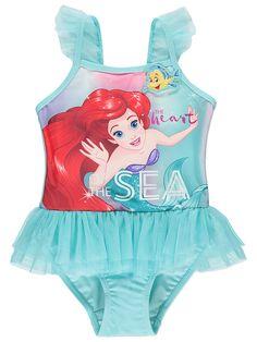 1fb81abc4b Little Mermaid Swimsuit, Ariel The Little Mermaid, Blue Swimsuit, Disney  Little Mermaids,