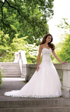 David Tutera Wedding gown, I usually don't pin gowns but this one is GORGEOUS