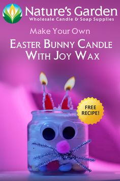 How to make your own Easter Bunny Candle with JoyWax