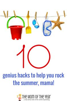Summertime is full of outdoor fun, but every real mama knows all the activity can get a bit intense too! Check out these 10 real-advice tips, tricks and hacks to survive the summer and keep your sanity in check--score! Summertime kicking back is back in the bag, mom! Big summer on your hands, mama? 10 survival hacks you need NOW! http://www.themomoftheyear.net/2017/06/sponsored-summer-hacks.html    #ad #NeverRunOut Cottonelle Walmart