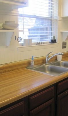 Fake Wood / Laminate Countertops   GUH! One Of My Least Favorite Things To  Find