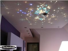 Lighting in the bedroom arrangements in the bedroom, the decor in the bedroom ideas for the bedroom guarantees a starry sky. Set Crystal Dust in the bedroom that will make it our real dream bedroom. www.e-technologia.pl
