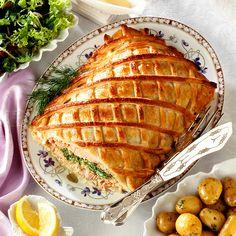 Meat and Fish en Croûte