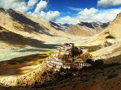 Buddhist Monastery, Himalayas