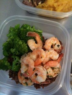 Shrimp and broccoli | Anthony Leberto Catering