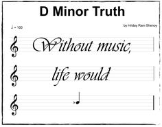 Without music, life would be...