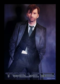 Twelve by i4dezign73.deviantart.com on @deviantART BREAKING NEWS: The long lost Brother of Doctor Fun - Doctor 'No Fun' at all.... steps into Eleven's shoes as Twelve. *wink* #JustForFunOnly (Mindue I'd happily see THAT BACK!) *Flails* #DavidTennant