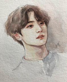 Image may contain: drawing Jungkook Fanart, Kpop Fanart, Kpop Drawings, Bts Chibi, Foto Bts, Bts Pictures, Bts Wallpaper, Artist Art, Art Inspo