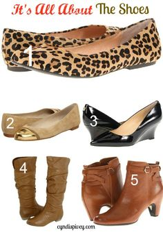 {Day 25} It's All About The Shoes: Fashion For Women over 40