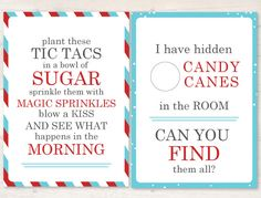 Elf Scavenger Hunt Cards - 6 large activity cards for your elf to have fun with including a cooking activity, and candy cane hunt! Christmas Scavenger Hunt, Halloween Scavenger Hunt, Scavenger Hunt For Kids, Christmas Goodies, Christmas Holidays, Christmas Crafts, Christmas Printables, Christmas Stuff, Christmas Ideas