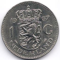 Netherlands 1 Gulden 1967 Nickel Veiling in de Nederland,Europa (niet of voor €),Munten,Munten & Banknota's Categorie op eBid België