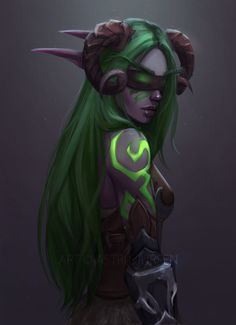 Commissions [OPEN]|YouTube|ArtStation|Instagram Guess what guys, it's another demon hunter (^: Commissioned by Illyrieth. Recent work: &n...