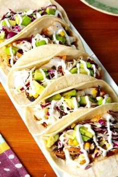 fish tacos tilapia ~ fish tacos & fish tacos with cabbage slaw & fish tacos tilapia & fish tacos sauce & fish tacos recipe & fish tacos with cabbage slaw easy & fish tacos with cabbage slaw tilapia & fish tacos with mango salsa Seafood Dishes, Seafood Recipes, Mexican Food Recipes, Dinner Recipes, Cooking Recipes, Healthy Recipes, Seafood Appetizers, Fish Taco Recipes, Cheap Recipes