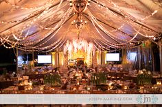 Rancho Las Lomas | Corporate ABC OC Event Trendsetter awards with Inviting Occasion Floral at Teatro clear tent lighting candles