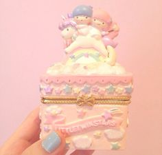 ♡ kawaii doll sanrio pastel cute decor jewelry box via @catarinaregina the sweetest doll queen love .。.:*❤