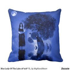 Decorate your home with decorative and throw pillows from Zazzle. Celtic Fantasy Art, Decorative Throw Pillows, Decorating Your Home, Lady, Blue, Design, Accent Pillows, Decor Pillows