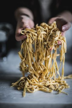 Flavors of Spring: Homemade Thyme Linguine PastaRecipe