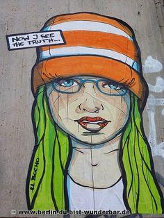 El Bocho - Street art in Berlin 2015