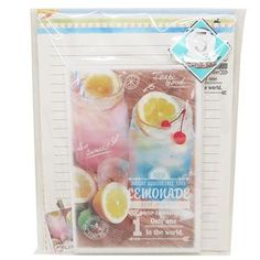 Cinemacollection   Rakuten Global Market: Letter set sky sur photo early lemon kamio Japan letterhead + envelope letter set fashionable toy store cinema collection all points / 10 x 6 up to 1 night 2: