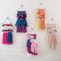 ― slow art for the homeさん( 「there are only 2 {littles} left and all customs are gone! delicious looking orange sherbet golden…」 Weaving Textiles, Weaving Art, Tapestry Weaving, Loom Weaving, Hand Weaving, Weaving Wall Hanging, Wall Hangings, Peg Loom, Art Textile