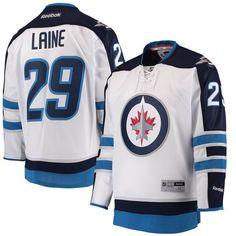 f6dc5e5708a Patrik Laine Winnipeg Jets Reebok Away Premier Jersey - White. Jets  HockeyNhl ...