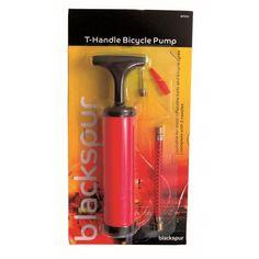 T handle bicycle pump