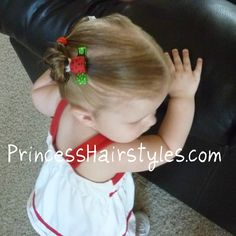 Toddler Hairstyles, A Side Ponytail | Hairstyles For Girls - Princess Hairstyles