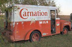 1958 Carnation Milk Truck