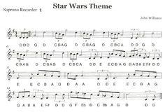 "Third Street Music: Recorder Ensemble - ""Star Wars"" First Recorder Part 1"