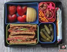 Packed Lunch Ideas: over a month's worth of ideas