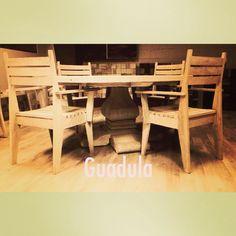 Mesas sillas