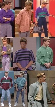 Want to get an awesome look like Zack Morris? Check out Vintage Mens Goods.