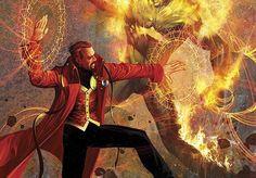 Who's costume you rather have Dr Fate or Dr Strange - Gen. Marvel Doctor Strange, Doc Strange, Dc Doctor, Strange Magic, Strange Things, Ms Marvel, Marvel Comics Art, Marvel Heroes, Marvel Comic Character