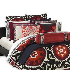 N by Natori Samarkand Duvet Covers and Accessories, 100% Cotton, 300 Thread Count - Bed Bath & Beyond