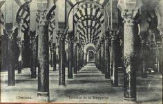 Córdoba. Interior de la Mezquita.