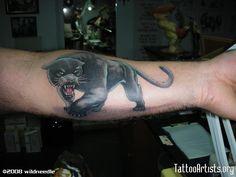 Black Panther Animal Tattoo On Left Arm Leg Tattoos, Arm Tattoo, Tattoos For Guys, Sleeve Tattoos, Cool Tattoos, Tatoos, Black Panther Tattoo, Panther Print, Ink Addiction
