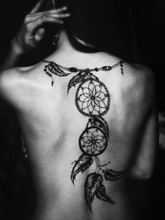 Such a sick dream catcher tattoo