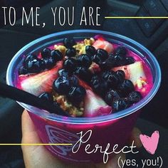 A perfect meal to compliment your day is this beauty right here, the Pitaya Passion Bowl from Juice It Up!