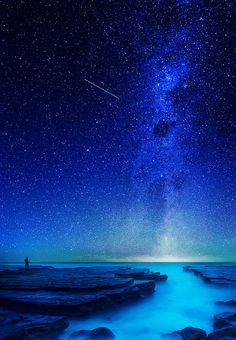 Blue all around! | sky | | night sky | | nature | | amazingnature | #nature #amazingnature https://biopop.com/