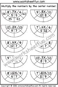 Multiplication – 1 Worksheet