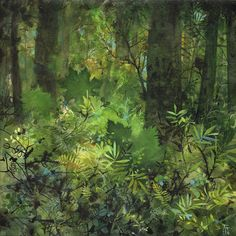 In Forests (paintings) — Andie Thrams