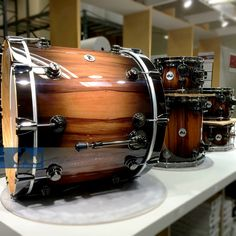 Quick Candy Black Burst Over Chilean Apple. #dwdrums #thedrummerschoice