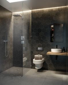 Navigate to the initial website about Bathroom Update Ideas Small Basement Bathroom, Big Bathrooms, Rustic Bathrooms, Bathroom Design Luxury, Bathroom Layout, Modern Bathroom Design, Bad Inspiration, Bathroom Inspiration, Toilet Design