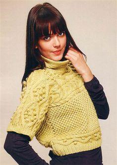 Bergere de France Short Sleeve Jersey Knitting Pattern 114.161 Chalecos 9f9f9d2ba4f6