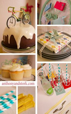 Biking is HUGE in Fond du Lac. Throw a bike themed birthday party for tons of fun!