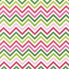 Papier peint  -  tissu de Ann Kelle - Remix - Zig Zag Stripe in Garden