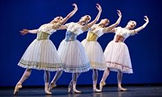 A scene from Napoli by Royal Danish Ballet